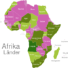 Map African Countries Angola
