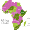 Map African Countries Athiopien