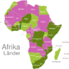 Map African Countries Benin
