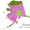 Map Alaska Countys Aleutians_East