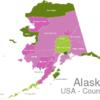Map Alaska Countys Anchorage