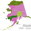 Map Alaska Countys Bethel