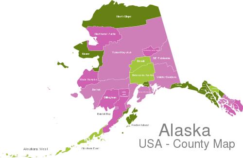 Alaska Countys