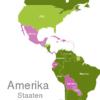 Map America Countries Aruba