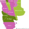 Map Argentina Provinces Catamarca