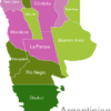 Map Argentina Provinces Chubut