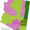 Map Arizona Countys Apache
