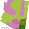 Map Arizona Countys Cochise