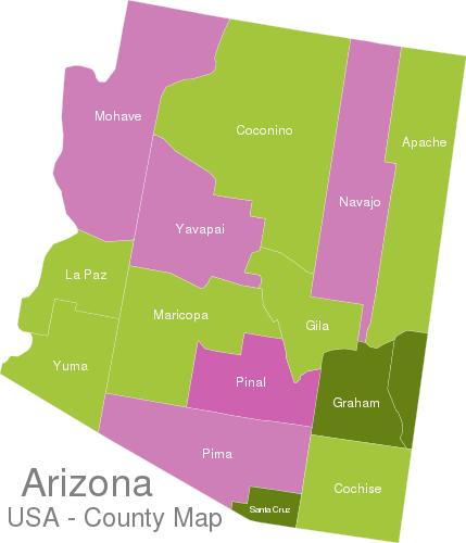 Arizona Countys