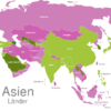 Map Asia Countries Aserbaidschan