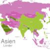 Map Asia Countries Bangladesch