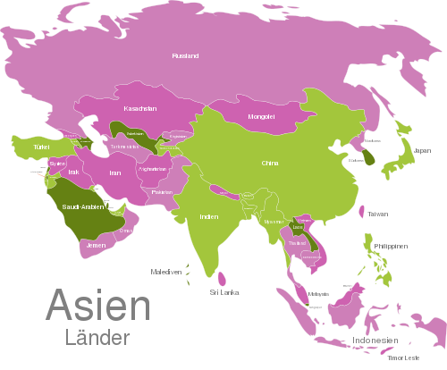 Asia Countries
