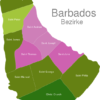 Map Barbados Districts Christ_Church