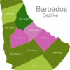 Map Barbados Districts Saint_Andrew