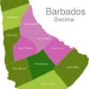 Map Barbados Districts Saint_George