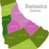 Map Barbados Districts Saint_James