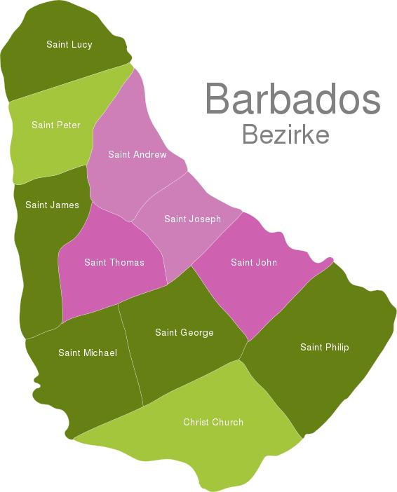Barbados Districts