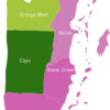 Map Belize Districts Cayo