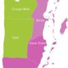 Map Belize Districts Corozal