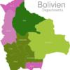 Map Bolivia Departments Beni