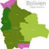 Map Bolivia Departments La_Paz