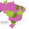 Map Brazil States Acre