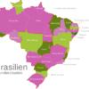 Map Brazil States Alagoas