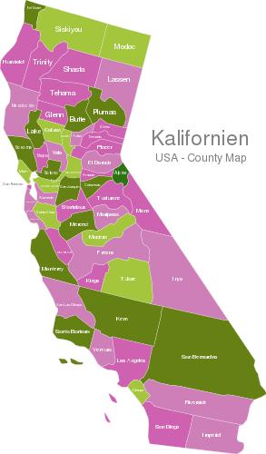 California Counties