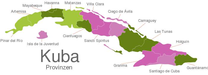 Cuba Provinces