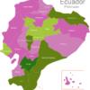 Map Ecuador Provinces Azuay
