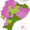 Map Ecuador Provinces Canar_1_