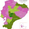 Map Ecuador Provinces Chimborazo