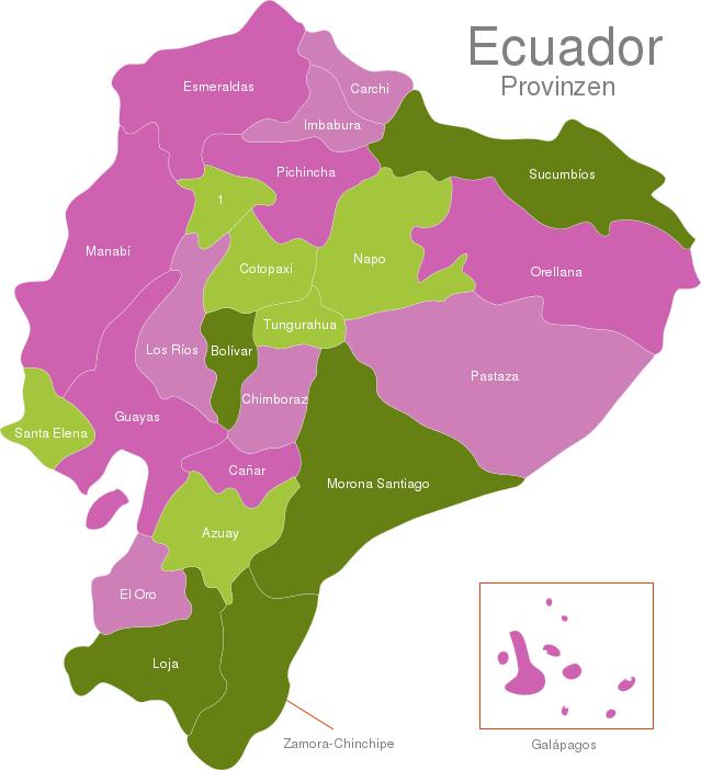 Ecuador Provinces