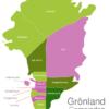 Map Greenland Municipalities Ammassalik