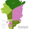 Map Greenland Municipalities Avannaa