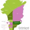 Map Greenland Municipalities Illoqqortoormiut