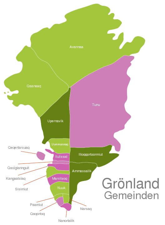 Greenland Municipalities