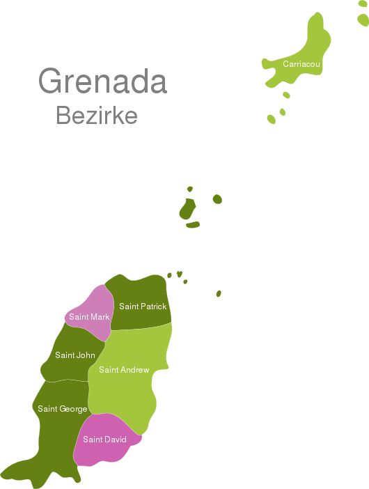 Grenada Districts