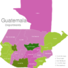 Map Guatemala Departments Baja_Verapaz