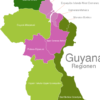 Map Guyana Regions Barima-Waini