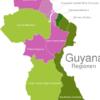 Map Guyana Regions Demerara-Mahaica