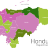 Map Honduras Departments Colon_1_