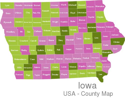 Iowa Countys