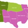 Map Jamaica Municipalities Kingston