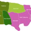 Map Jamaica Municipalities Manchester