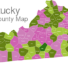 Map Kentucky Counties Adair