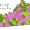 Map Kentucky Counties Allen