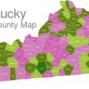 Map Kentucky Counties Barren