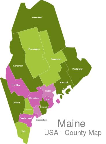 Maine Countys