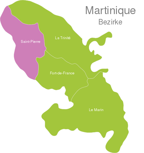 Martinique Districts